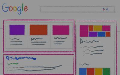 Les différents types de résultats de recherche que propose Google